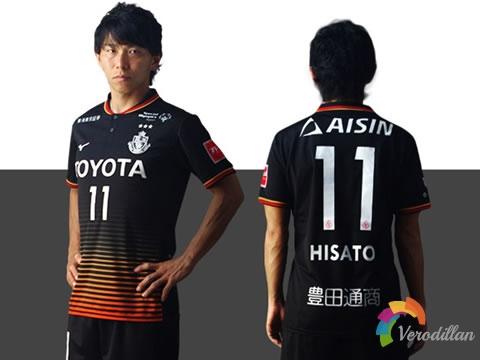 美津浓发布名古屋鲸八J联赛25周年纪念限定球衣