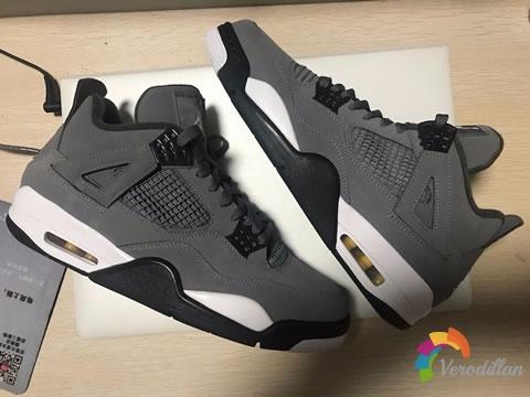 潮气潮流感十足:AJ4代高人气酷灰配色战靴
