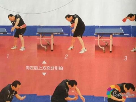 [图解教学]乒乓球直拍反手侧旋与侧上旋球技术
