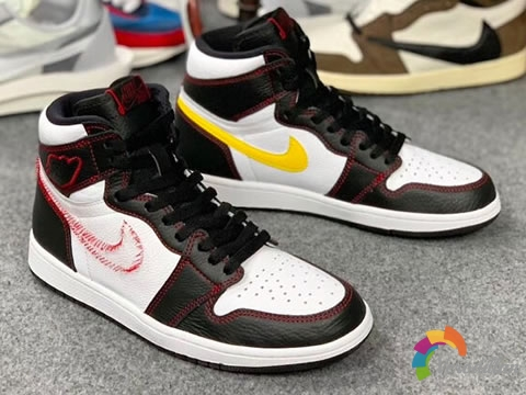 Air Jordan 1 Dynamic Yellow,全新拆线感设计风格