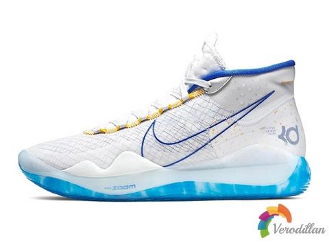 [球鞋鉴赏]Nike KD 12白蓝勇士配色