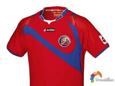 哥斯达黎加国家队发布2014世界杯主场球衣