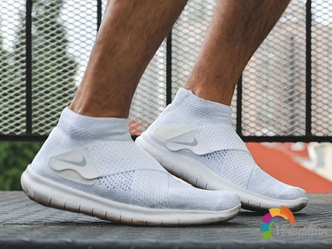 交叉绑带设计:Nike Free RN Motion FK实跑测评图2