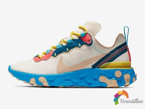 细节出众:Nike React Element 55鞋型发售