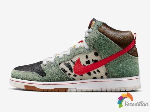 外观萌人:Nike SB Dunk High Dog Walker新配色