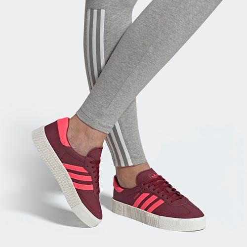 阿迪达斯EE7045 SAMBAROSE W女子运动鞋图5