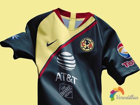 无所畏惧:墨西哥美洲2018/19赛季主客场球衣图2