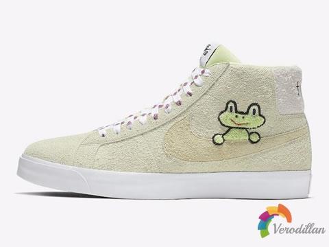 实力卖萌:Nike SB Zoom Blazer Mid QS板鞋