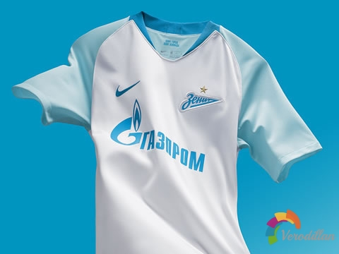 [球衣近赏]圣彼得堡泽尼特2018/19赛季客场球衣
