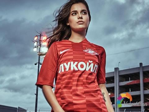 进攻就是胜利:莫斯科斯巴达克2018/19赛季主客场球衣