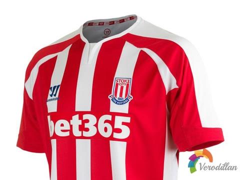 现代感设计:斯托克城2014/15赛季主客场球衣