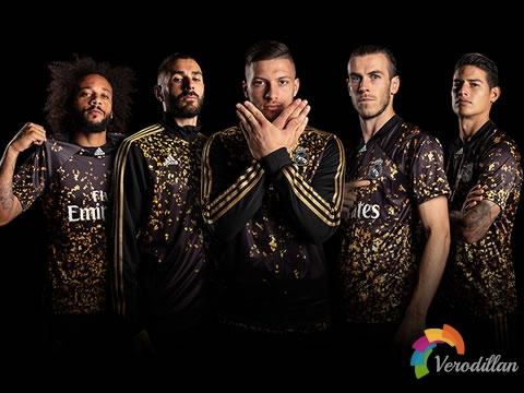 阿迪达斯联手FIFA 20推出皇马特别版球衣