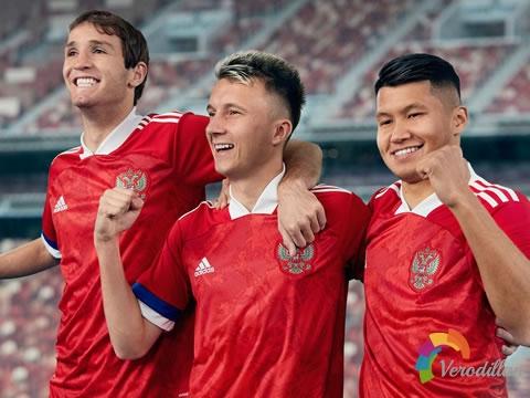 时尚现代:俄罗斯国家队2020年欧洲杯主场球衣