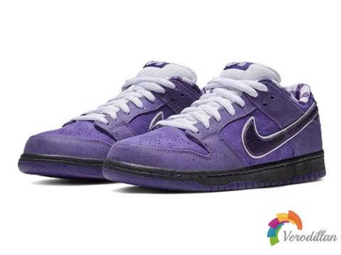 Nike Dunk SB系列紫龙虾,一款让人疯狂的配色