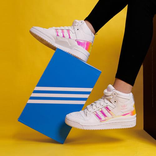 阿迪达斯D98180 FORUM MID W女子运动鞋图7