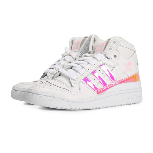 阿迪达斯D98180 FORUM MID W女子运动鞋图5高清图片