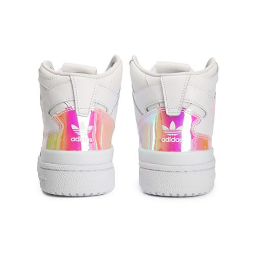 阿迪达斯D98180 FORUM MID W女子运动鞋图3高清图片