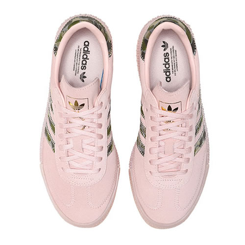 阿迪达斯EE4679 SAMBAROSE W女子运动鞋图4高清图片