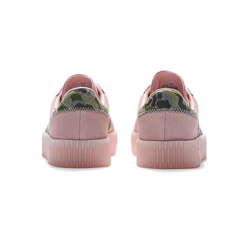 阿迪达斯EE4679 SAMBAROSE W女子运动鞋图3高清图片
