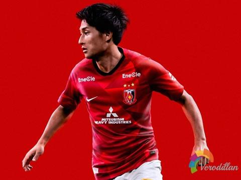 钻石迷彩:浦和红钻2020赛季主场球衣