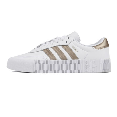 阿迪达斯FW5392 SAMBAROSE W女子运动鞋