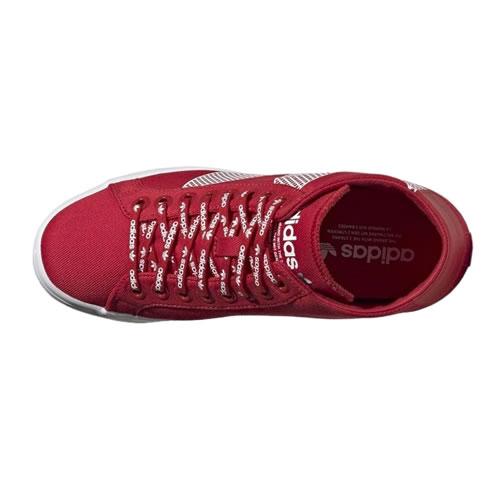 阿迪达斯FU6821 COURTVANTAGE HEEL LOGO女子运动鞋图4高清图片