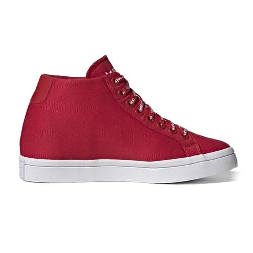 阿迪达斯FU6821 COURTVANTAGE HEEL LOGO女子运动鞋图2高清图片