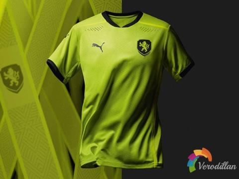 PUMA携手捷克国家队发布2020年欧洲杯客场球衣