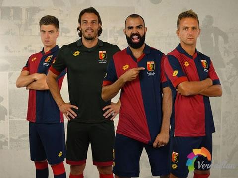 Lotto发布热那亚俱乐部成立125周年特别版球衣