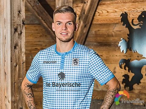 [细节解码]慕尼黑1860 2018慕尼黑啤酒节特别版球衣