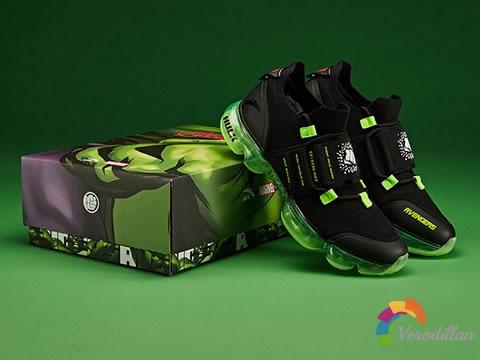 安踏漫威绿巨人联名款,英雄梦从运动鞋开始