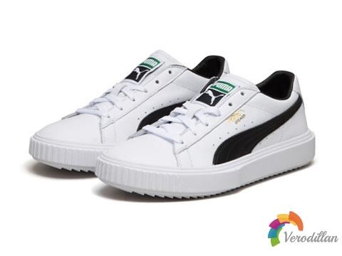 彪马Breaker LTHR小白鞋,舒适与时尚感并存