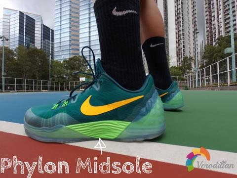 Nike ZOOM KOBE VENOMENON 5赛场测评,以水为灵感图3