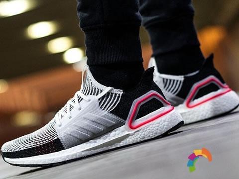 adidas UltraBOOST 19,高颜值爆米花跑鞋