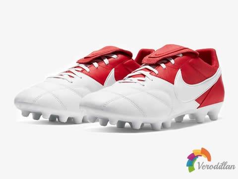 耐克Premier II足球鞋迎来全新白/红配色