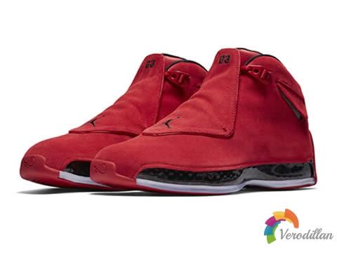 经典再现:Air Jordan 18(AJ18)大红靴