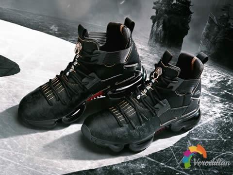 善恶分黑白:安踏初弎限量联名款篮球鞋