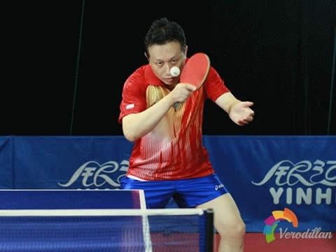 乒乓球横板生胶反手发球技术[图文教学]