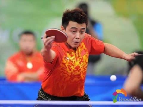 浅谈乒乓球接发球之旋转轴和卸转技术