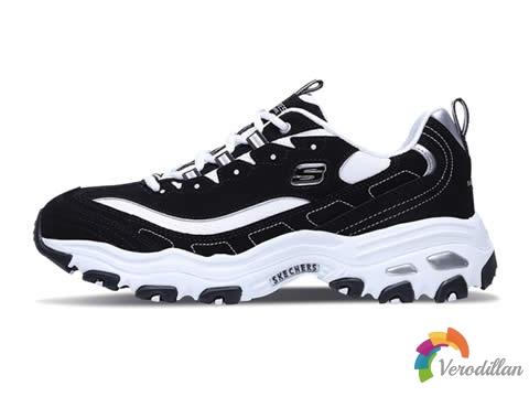 百搭黑白双色:斯凯奇DLITES系列熊猫鞋