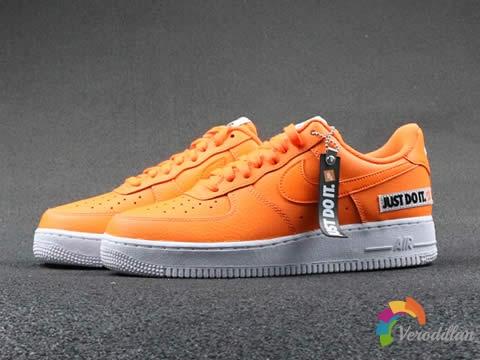 大玩解构风:Nike Air Force 1 Low亮眼橙色
