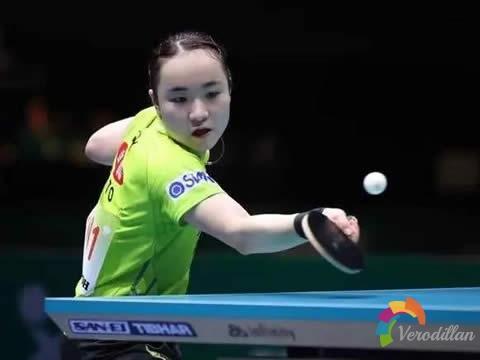 乒乓球反手生胶拨球技术动作和关键要点