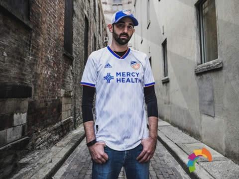 阿迪达斯发布FC辛辛那提2020赛季Heritage Link球衣