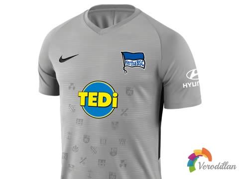 柏林赫塔携手耐克发布2019/20赛季第二客场球衣