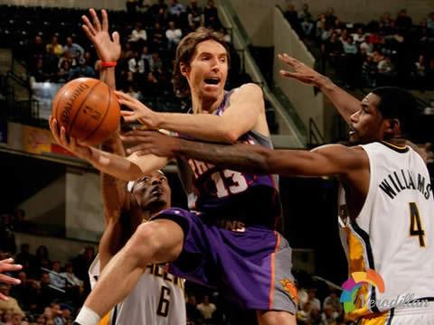 解码篮球基础进攻战术之突破分球
