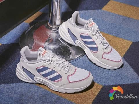 阿迪达斯90s VALASION系列跑鞋,新一轮复古潮流美学