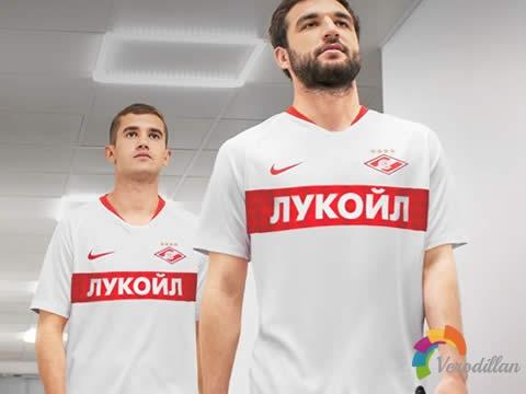[设计解码]莫斯科斯巴达克2019/20赛季主客场球衣
