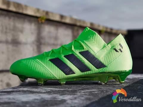 adidas推出Nemeziz Messi 18.1 Energy Mode明亮绿配色