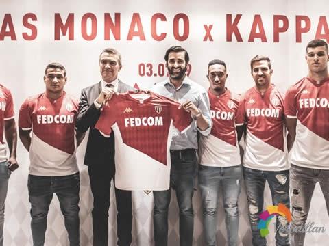 [细节解码]摩纳哥2019/20赛季主场球衣