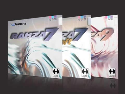 亚萨卡威力(RAKZA)系列套胶型号报价(最新版)